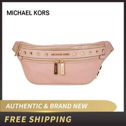 Authentic Original & Brand new Michael Kors Canvas Studded 3WAY Plain luxury Waist Bag 35T9GY9N8C