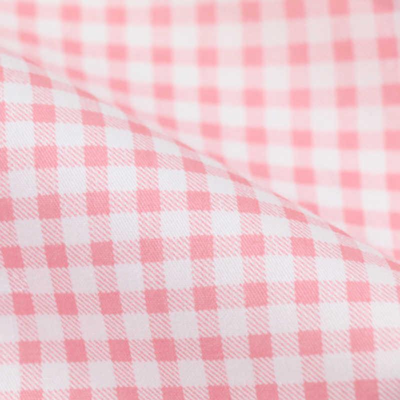 Kawaii ciasto serce z kokardą drukowane Twill 100% bawełna tkanina, obrus patchworkowy, DIY materiał do pikowania szycia dla dziecka i dziecka
