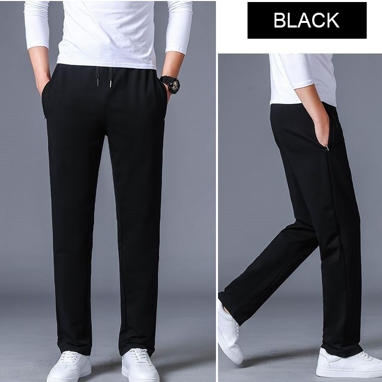 Men's High quality Brand Men Pants Loose Casual Straight Pants Men's Cotton Track Pants Jogging Trousers Men's Plus Size 5XL 6XL