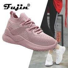 Fujin Brand 2019 New Summer Spring Mesh Breathable Light Casual Women Shoes Woman Sneakers Footwear Walking Ladies