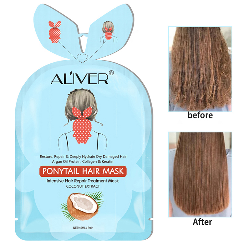 Hair Mask Flower And Fruit Extract Nourish Steam Free Hair Mask Deep Absorption Nourishing Soften Hair Anti drying Hair Mask in Hair Scalp Treatments from Beauty Health