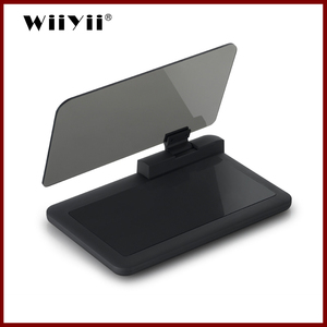 Image 1 - GEYIREN Universal H6 Car HUD head up display Car styling Phone Navigation Smartphone Holder gps hud for any cars car accesories