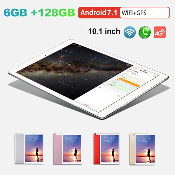 2020 WiFi Tablet PC 12800*800 IPS Screen 10 Inch Ten Core 6G+128G Android 8.0 Dual SIM Dual Camera Tablet GPS Phone Pad