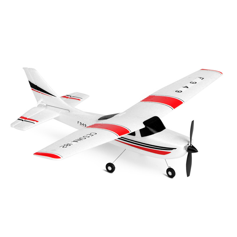 Weili F949 Three-channel Fixed-wing Aircraft Medium Entry-level Glider RC Airplane Model Toy image
