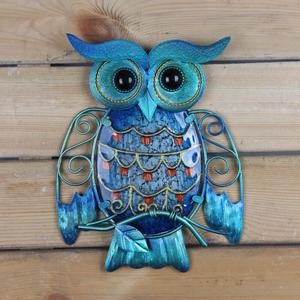 Image 5 - Metal Owl Home Decor for Garden Decoration Outdoor Statues Accessories Sculptures and Miniatures Animales Jardin