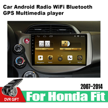 ZaiXi Android Car 2 din multimedia GPS Navigation For Honda Fit 2007~2014 vedio stereo Radio audio wifi video map video 8 core android 8 1 car stereo dvd for honda civic hatchback 2013 wifi 2 din rds gps navigation bluetooth audio video multimedia