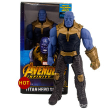 Disney Marvel Toys 30CM Marvel Avengers Endgame Thanos Hulk Action Figure Toys Movable Joint Figure Gifts Toys With Delicate box