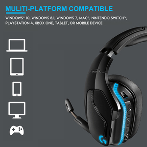 Image 3 - Logitech G933/G933s Wireless Gaming Headset 7.1 Surround Sound DTS Headphone Customizable RGB Compatible with PC Mobile Phone
