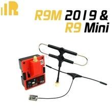 Frsky r9m r9m2019 r9m 2019 módulo de acesso e r9mini ota/r9mm ota/r9 magro + receptor ota combinação extensor de longa distância