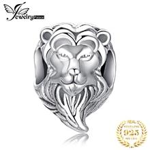 JewelryPalace Львиная голова стерлингового серебра 925 бусины подвески оригинальный браслет оригинальный изготовление ювелирных изделий