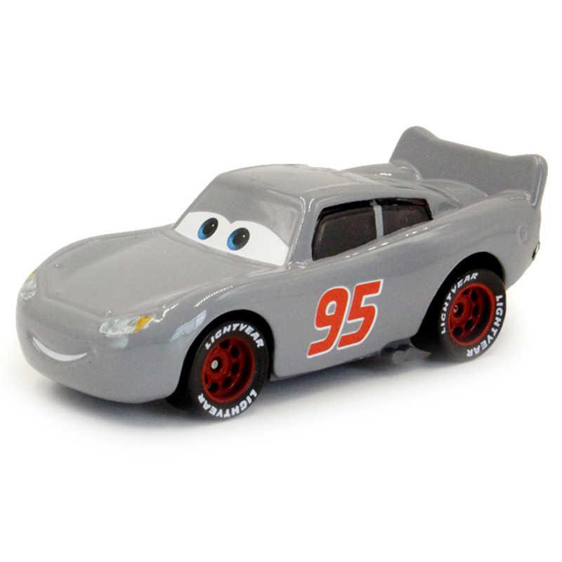 Disney Pixar Cars 2 Auto 'S 3 No.95 Lightning Mcqueen Mater Jackson Storm Ramirez Voertuig Metalen Legering Jongen Kid Speelgoed Kerst gift