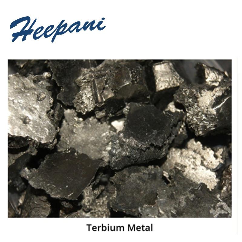 Free Shipping 99.9% Purity Terbium Metal Granule Tb Ingot Terbium Rare Earth Pellet For Scientific Research