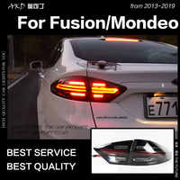 AKD Auto Styling für Ford Fusion Schwanz Lichter 2013-2019 Mondeo LED Schwanz Lampe LED DRL Dynami Signal Bremse reverse auto Zubehör