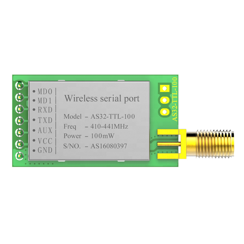 2 pcs LoRa SX1278 433 MHz Wireless rf Module with antenna iot Transceiver UART Long Range 433MHz rf Transmitter Receiver image