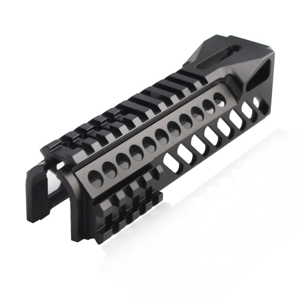 Magorui Tactical AK47 AK74 Gun Rail System Single Side Picatinny Rail Handguard