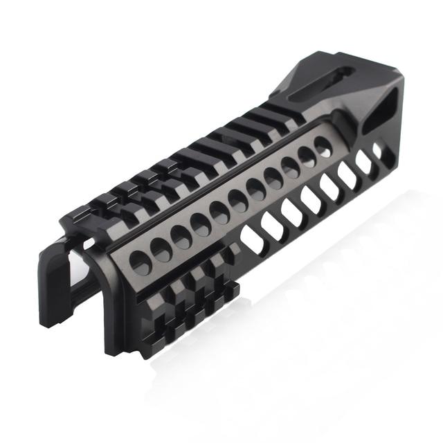 Magorui ak47 ak74 tactical sistema ferroviário arma único lado picatinny ferroviário handguard