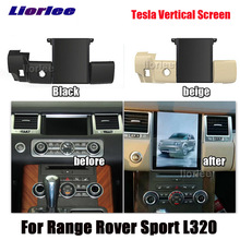 Dikey Tesla Android Land Rover Range Rover Sport için L320 2009 2013 radyo Android GPS navigasyon Carplay multimedya sistemi