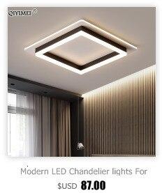 em branco preto corpo ferro arandela luzes led luminárias