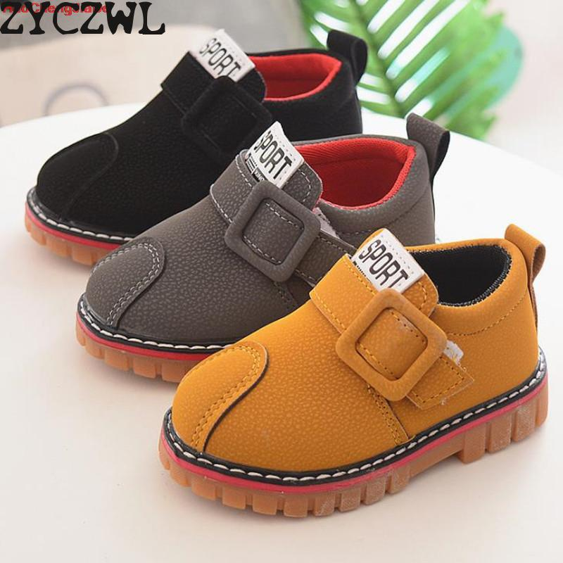 Hot Autumn Children Shoes Boys Girls Martin Boots Kids Boots Fashion Children Sneakers Kids Sport Shoes Size 21-30