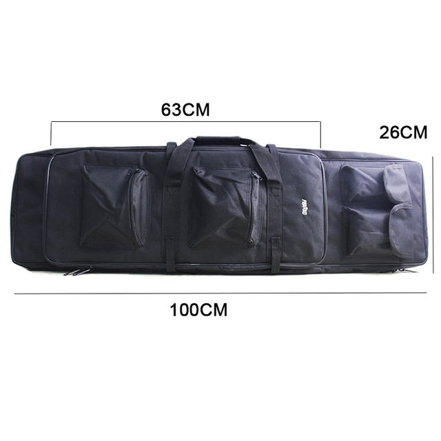 Military 85 96 100 120cm Rifle Backpack Gun Bag Case Double Rifle Airsoft Bag Shoulder Outdoor protable Hunting Accessories pack 5