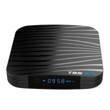 T95X2 Smart Tv Box Android 8.1 Amlogic S905X2 Quad Core H.265 4K Youtube Media Player Set Top Box T95 X2 t95 android tv box quad core amlogic s905 2g ram 8g rom smart tv box full loaded airplay apk 4k ott tv player smart set top box