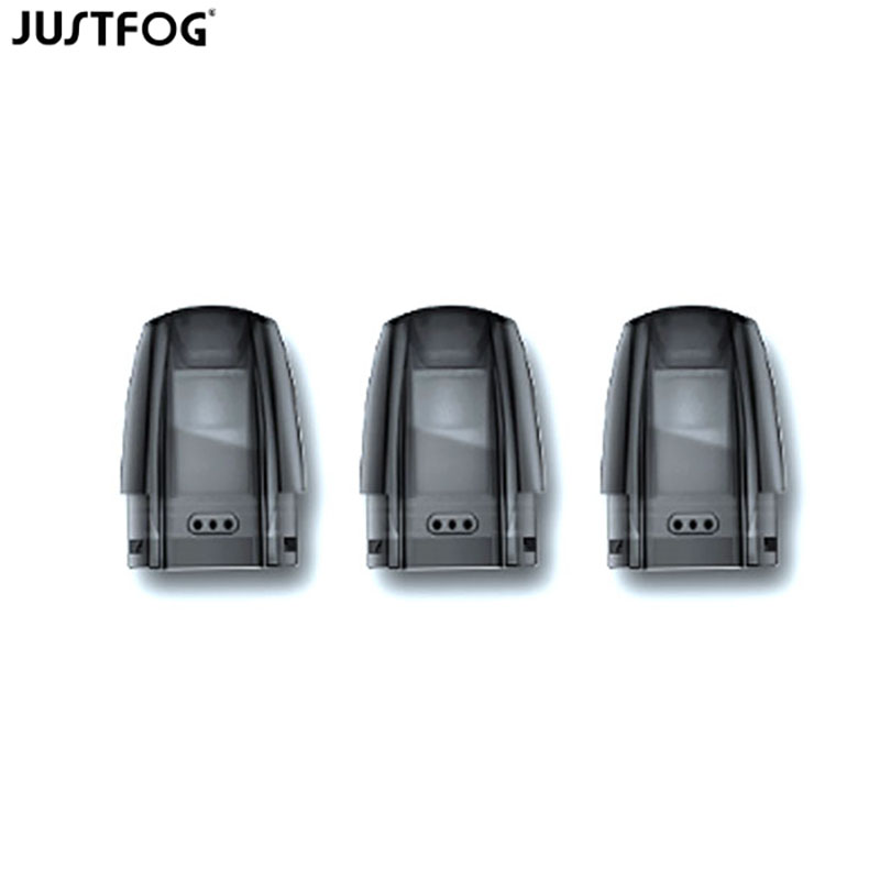 1/3/6/9/15/30/60pcs Justfog Minifit Replacement Pod Cartridge 1.5ml Capacity For Justfog Minifit Pod System Vape Starter Kit