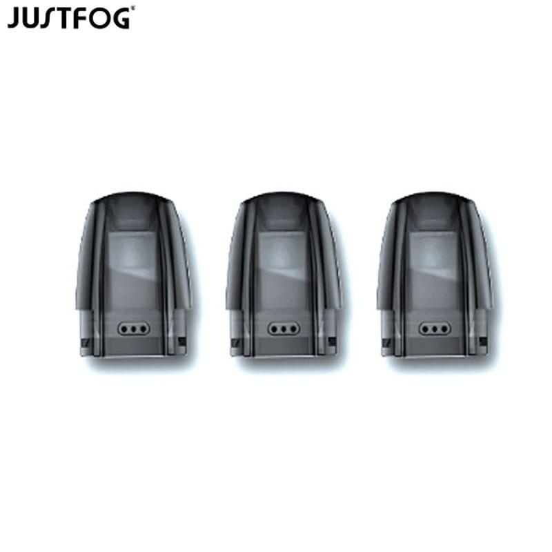 1/3/6/9/15/30/60pcs Justfog Minifit Replacement Pod Cartridge 1.5ml Capacity For Justfog Minifit Pod System Vape Starter Kit