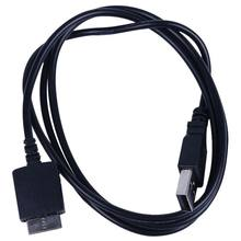 Cable de carga de datos USB Sony walderman E052 A844 A845 MP3 MP4 player negro(China)