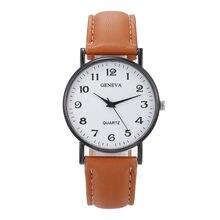 Moda luksusowe zegarki damskie zegarek kwarcowy skórzana stalowa tarcza Casual Bracele zegarek kwarcowy na rękę zegar prezent na zewnątrz zegarki na rękę #3