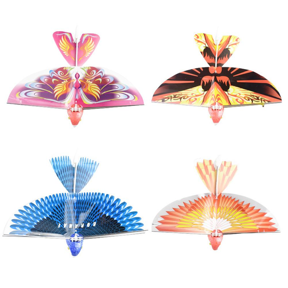 Flapping Bird Design Electric Flapping Bird 360° Hover Rechargeable Simulation Funny To Play Toy Children Gift