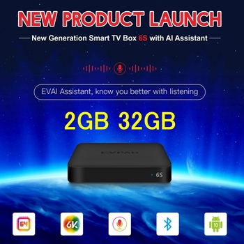 [Genuine] Evpad tv box EVPAD 5P Set-top box korea best android tv box Evpad 6P 4GB 64GB dual wifi Japan Canada SG EVPAD 5MAX 6K 10