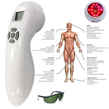 808nm 650nm Red Light Cold Laser Therapy Semiconductor LLLT Pain Relief Device semiconductor laser therapy heart attack myocardial infarction 13 laser beams cold laser device