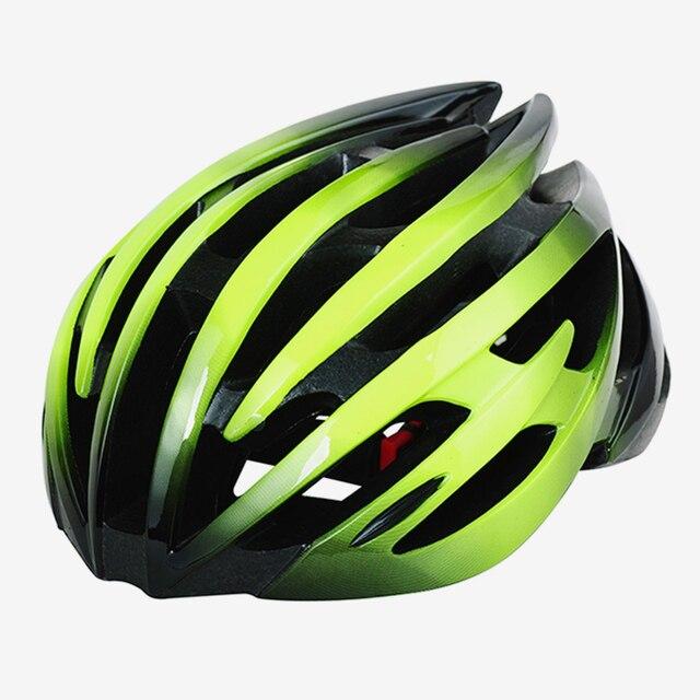 خفيفة الوزن الدراجات خوذة الطريق الدراجة الجبلية mtb ايرو للرجال النساء دراجة خوذة أخضر أحمر وردي M \ L درب سباق دراجة هليكوبتر