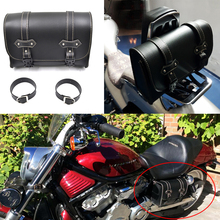 For Harley Sportster XL883 XL1200 Universal Motorcycle Saddlebag Model Side PU Leather Luggage Saddle bag Storage Tool Pouch Hot bjmoto brown motorcycle pu leather left right side saddlebag saddle bag luggage bag tool bags storage for harley sportster
