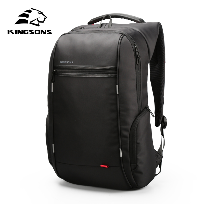 KINGSONS Backpack Men For Laptop 13.3 15.6 17.3 Inch  Waterproof Women Fashion Backpacks For Business Travel School Bags 2019
