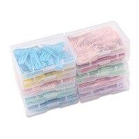 50 pz/scatola clip di capelli colorati bambino metallo Hairgrip tinta unita bambini Snap forcine bambino Mini Barrettes accessori per capelli