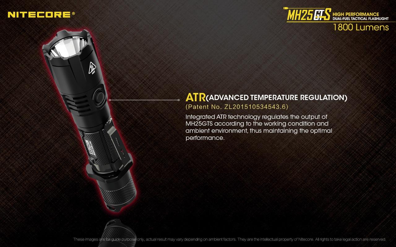 alta-brilhante ultra-brilhante de longo alcance auto defesa luz da tocha 1800 lumens