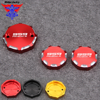 For DUCATI 959 Panigale 959Panigale 2016 2018 2017 16 18 Motorcycle Front Brake Clutch & Rear Brake Fluid Reservoir Cover Cap
