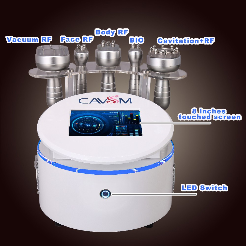 7 In1 Dissolve Fat Physiotherapy Ultrasound Slimming  Facial Care Cavitation Clean Skin Rejuvenation Machine