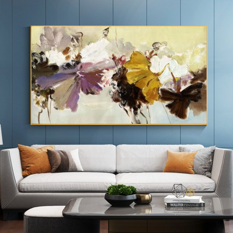 Abstract Flowers Canvas Art Wall Paintings Home Decor Pop Art Canvas Prints Flowers Modern Wall Posters For Living Room Cuadros Painting Calligraphy Aliexpress