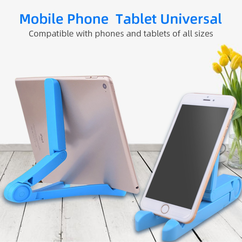 Multi-Angle Adjustable Phone Stand Mount Designed For 5 Inch To 12 Inch Tablets And Smartphones For IPhone For Samsung Galaxy