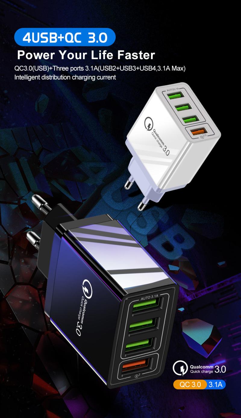31a зарядное устройство быстрое 30 портативное настенное для