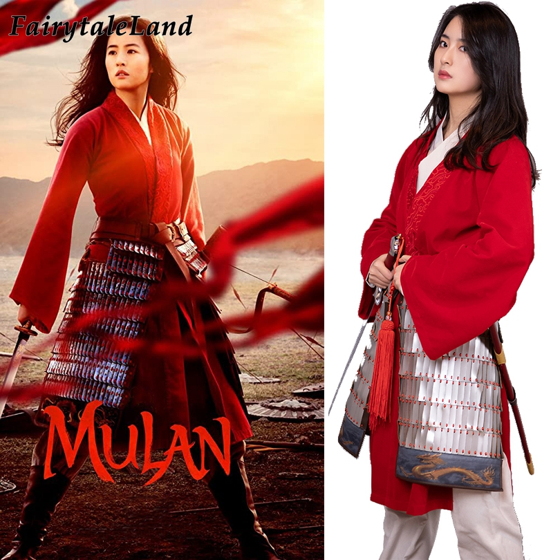 2020 Mulan Costume Princess Halloween Adult Women Costumes Superhero Red Mulan Battle Outfit Fancy Ancient Costume Aliexpress