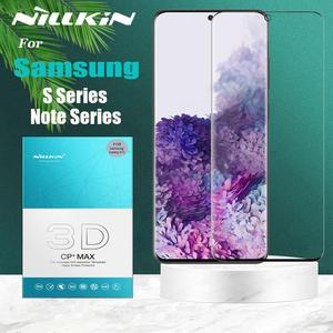 Nillkin 3D Full Coverage Tempered Glass for Samsung Galaxy S20 Ultra S20 S10 S9 S8 Plus Note 10 9 8 Plus Glass Screen Protector(China)