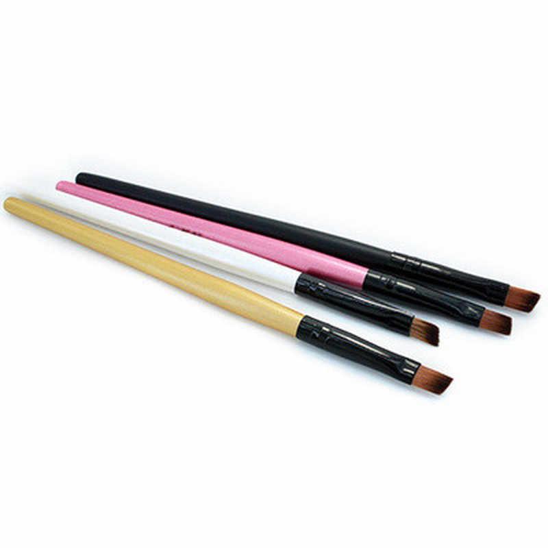 1 pçs pincel de maquiagem sombra de olho blending eyeliner eyelash sobrancelha fundação blush compõem escovas profissional feminino ferramenta cosmética