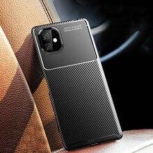 עבור iPhone 12 פרו מקסימום SE 2020 מקרה רך סיליקון כיסוי על עבור iPhone 12 מיני 7 8 בתוספת 11 פרו X XS MAX XR מקרי עמיד הלם Funda