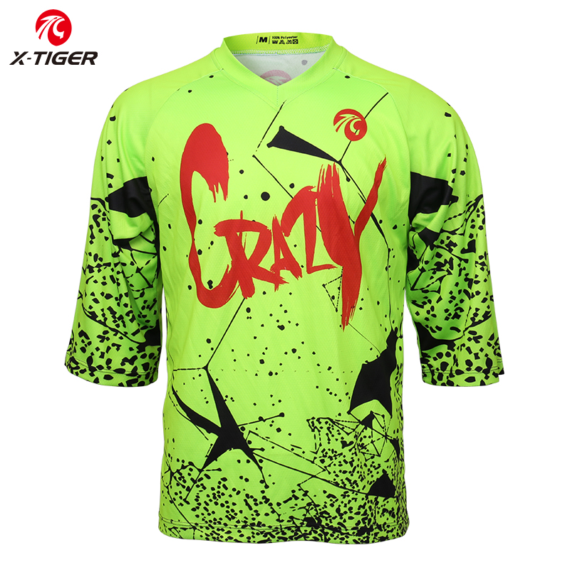 motocross racing Jersey Men Quick Dry Motorcycle MTB cycling shirt Mountains