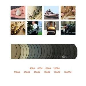Image 5 - 50 sztuk papier ścierny 75 Mm papier ścierny Wet & Dry 00/800/1500/2000/2500/3000/4000/ 5000/7000/10000 Grit