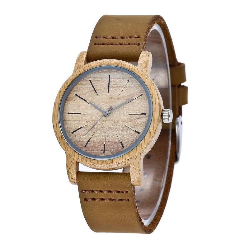 2019 Amazon New Cross-border Hot Style Lovers With Bamboo Watch Spot A Undertakes To Factory