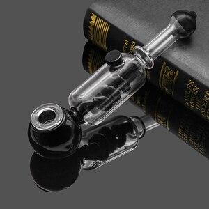 Image 5 - สมุนไพรแห้ง Vaporizer Freeze ท่อแก้ว VAPE Vaporizer สมุนไพร Chamber เย็นกรองควัน Cooling ท่อ
